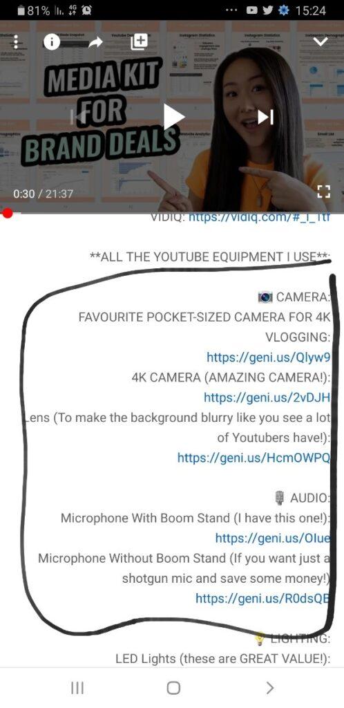 שיווק שותפים ביוטיוב